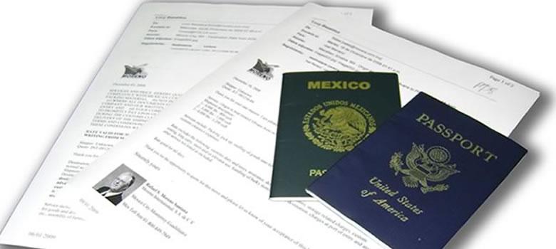 mudanza a Ciudad Juarez, documentación